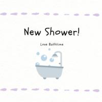 シャワーヘッドを買いました!一人暮らしが楽しいよ。