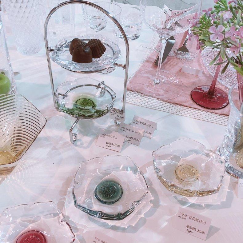 sghr スガハラ ハイティースタンド テーブルウェアフェスティバル2020に行ってきました♡