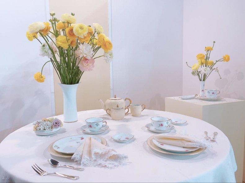 大倉陶園テーブルウェアフェスティバル2020に行ってきました♡