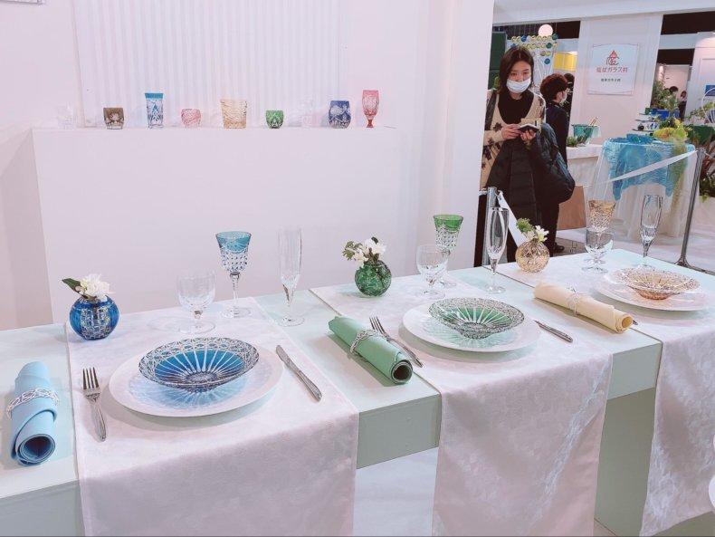 カガミクリスタル テーブルウェアフェスティバル2020に行ってきました♡
