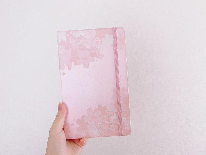 女性におすすめのモレスキン6選♡ピンクやベージュの可愛いデザイン集めました。桜