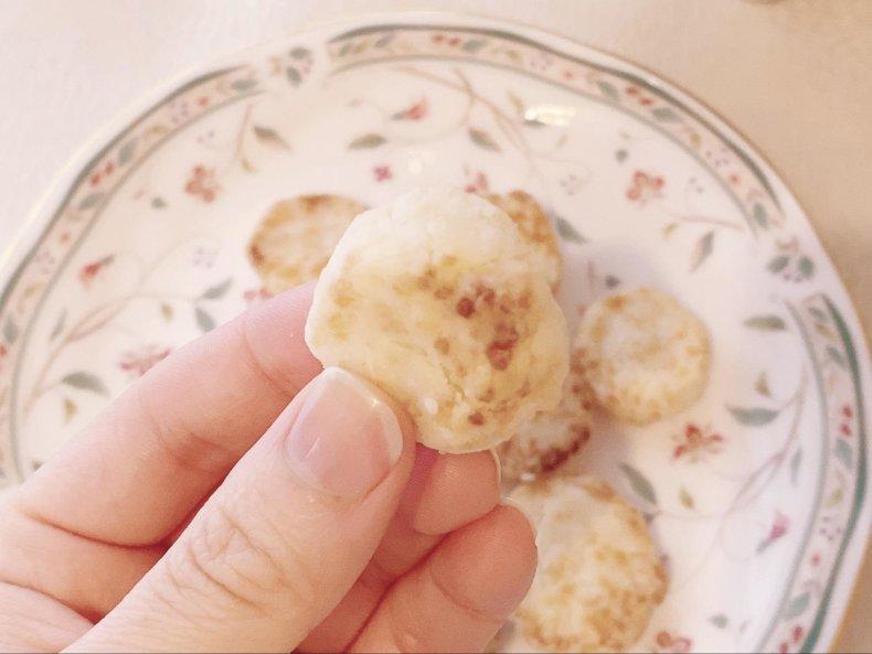 米粉クッキー作ろう♡グリルで手軽にヘルシーおやつ