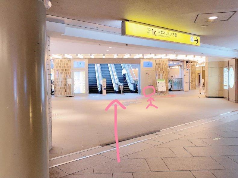 TOHOシネマズ六本木ヒルズへの行き方。映画館行こう!アクセスを写真つきで解説