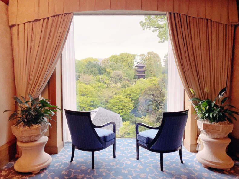 夏の楽しみ。椿山荘にホタルを見にいきました。