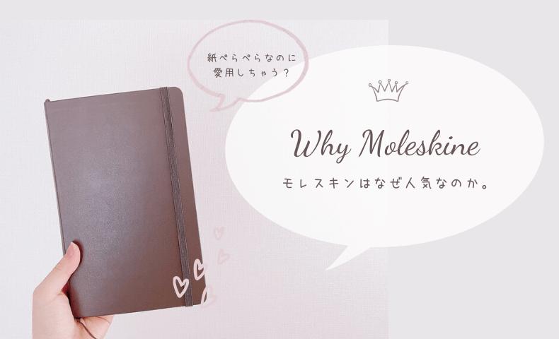 モレスキンはなぜ人気なの?「紙ぺらぺらじゃん」と思ったのに、結局愛用してしまう理由。