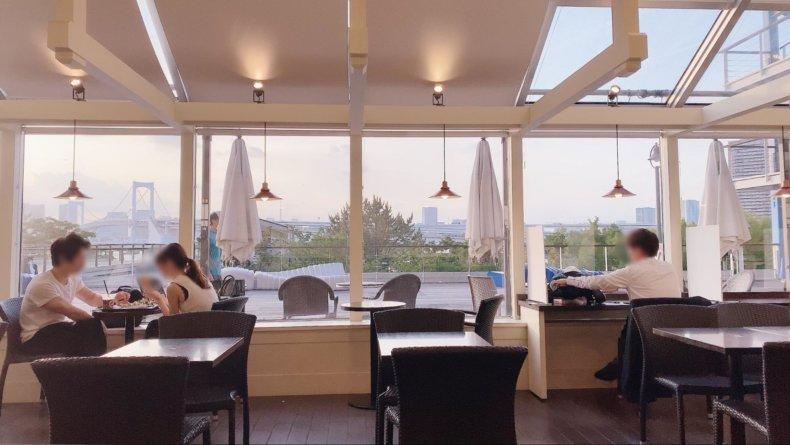 ハワイ気分になりたい!お台場の海の見えるカフェ「アイランドヴィンテージコーヒー」でゆっくり。