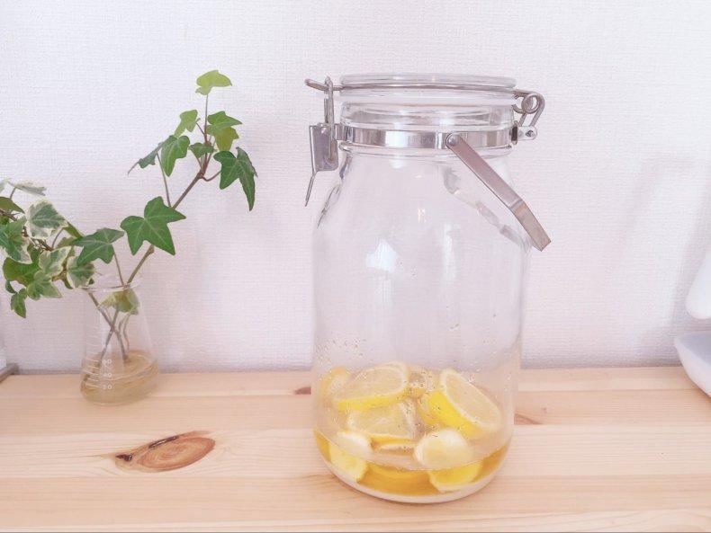 夏が暑いのでレモネードを作ってみました。