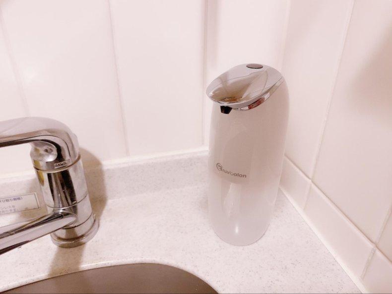 キッチン周り、水びちゃびちゃになってない?「ソープディスペンサー」でもう水をとばさない。