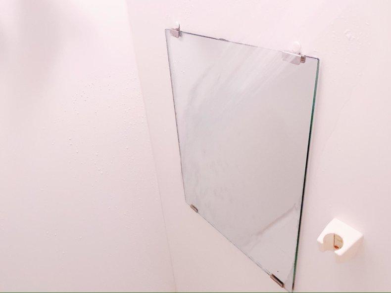 お風呂の鏡、まだくもったまま?「鏡のくもりどめ」がすごかった。