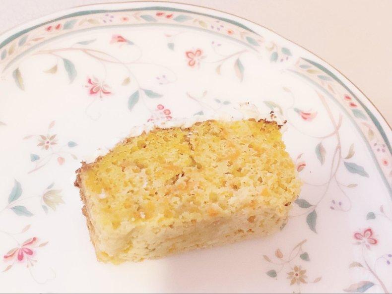 トースターで作る♡「米粉のキャロットケーキ」