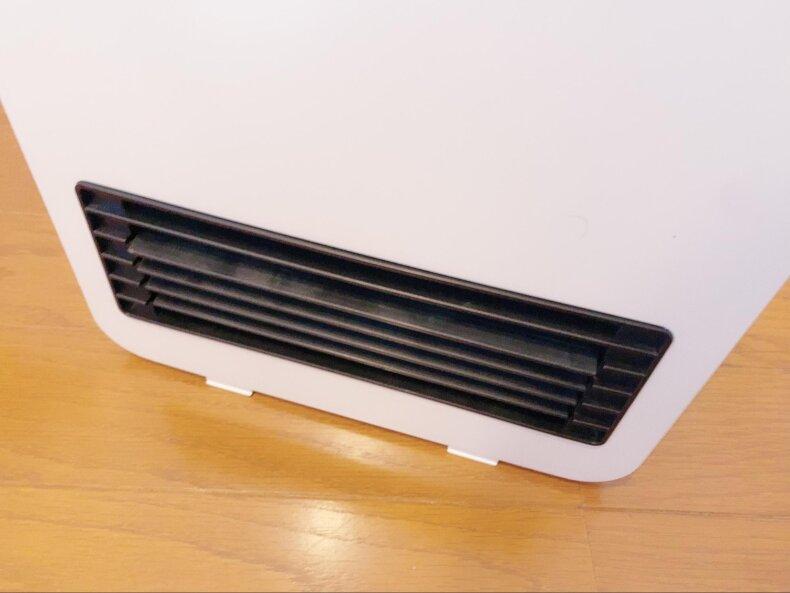 足元寒さ対策!リモートワークのおともに「セラミックファンヒーター」を買いました。